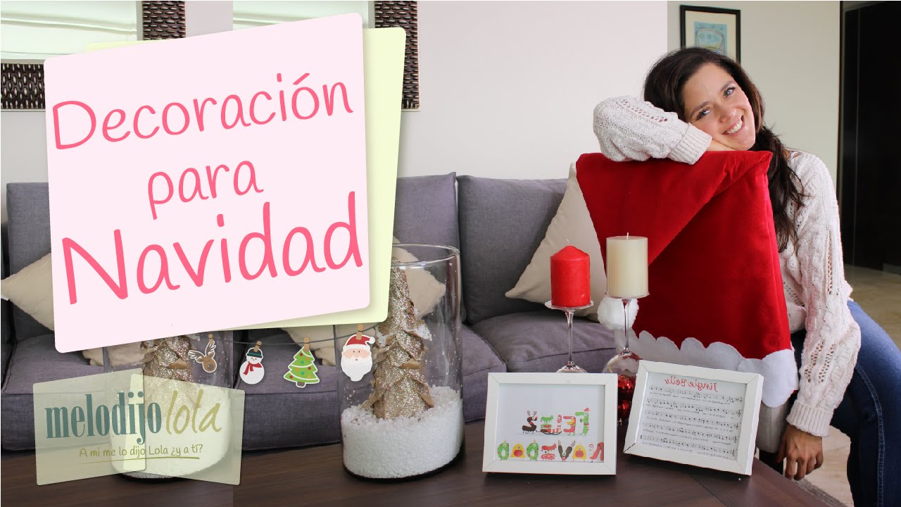 5 decoraciones navide as decoraciones f ciles para - Decoraciones para navidad ...