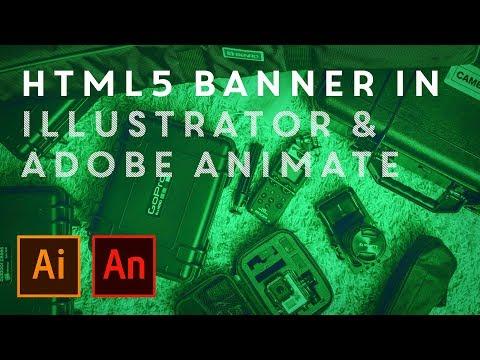Create A HTML5 Banner With Adobe Illustrator & Adobe Animate
