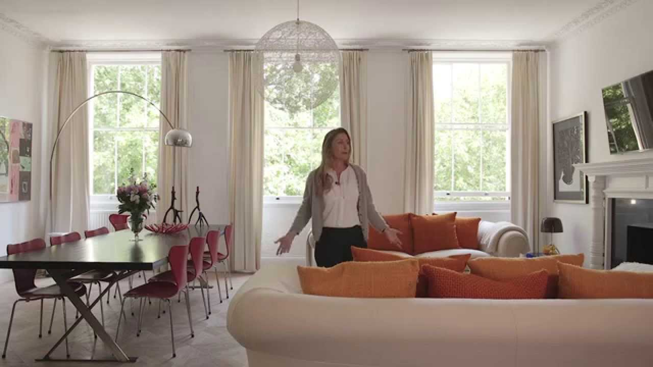 Designers at home take a tour around sophie conran 39 s for Liane v living room