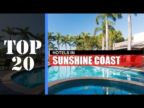 TOP 20 SUNSHINE COAST Best Hotels | Accommodations