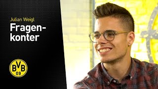 Quickfire Questions: Julian Weigl.