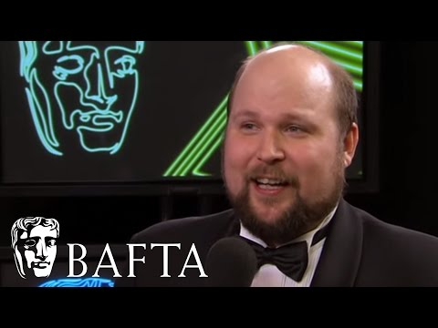 Minecraft Creator Markus Persson receives Special Award | BAFTA Games Awards 2012