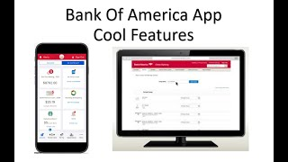 How To Use The Bank Of America App Cool Features