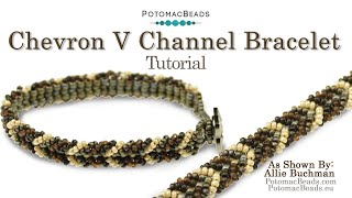 Make a Chevron V Channel Bracelet
