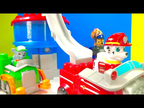 Thumbnail: Best Learning Colors Video for Children - Building Paw Patrol Ionix Lookout Tower