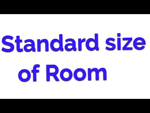Standard Size Of Room