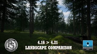 POST SCRIPTUM - 4.16 vs 4.21 Landscape Comparison