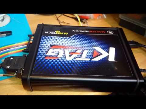 KTAG reading EDC17C64 GOLF VII TDI 150 HP 2014