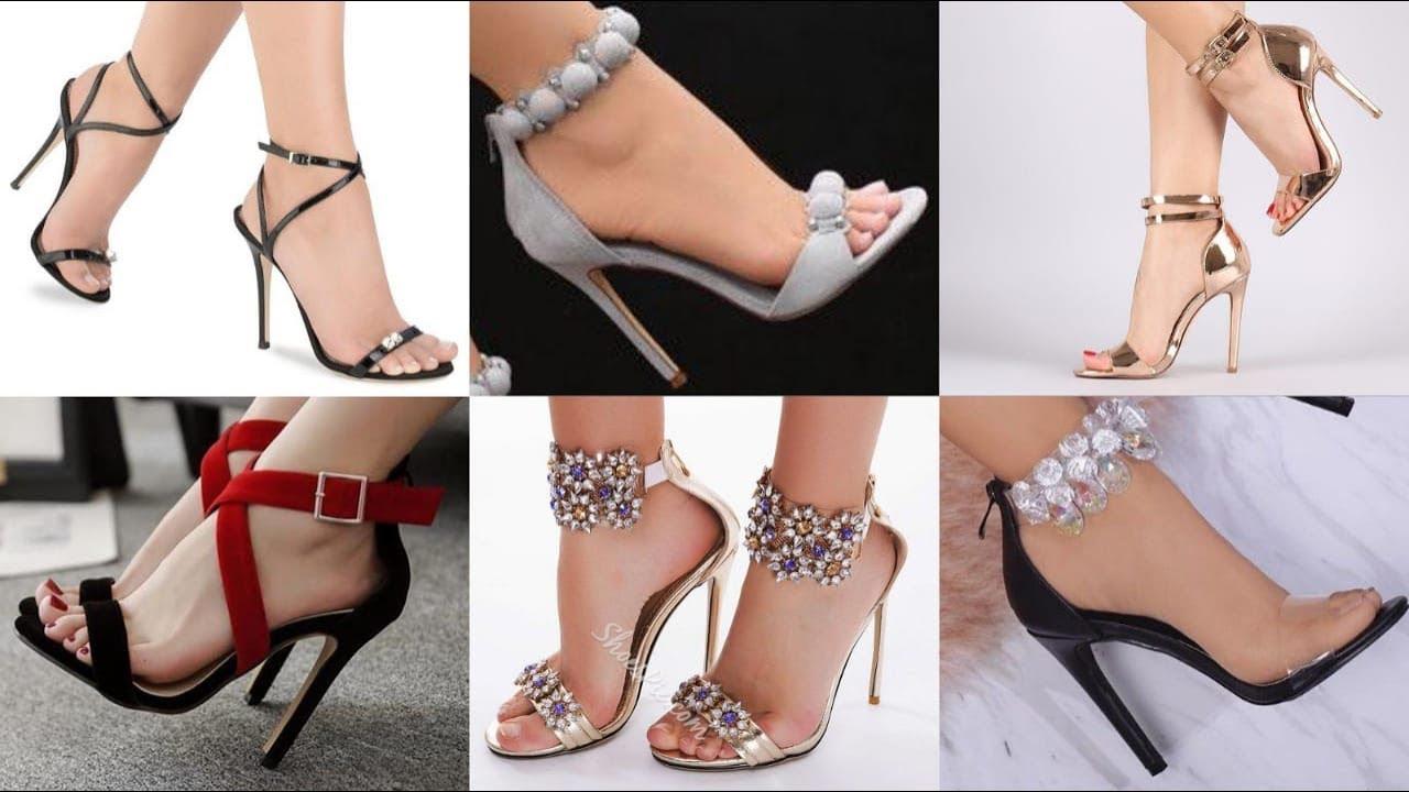 trending pencil high heel sandals shoes
