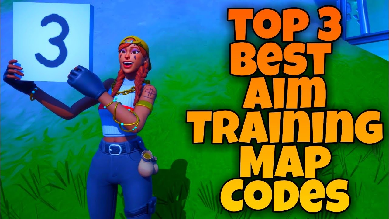 3 BEST Creative Map Codes To Get Better AIM! Console & PC! - In Fortnite Chapter 2 Season 3