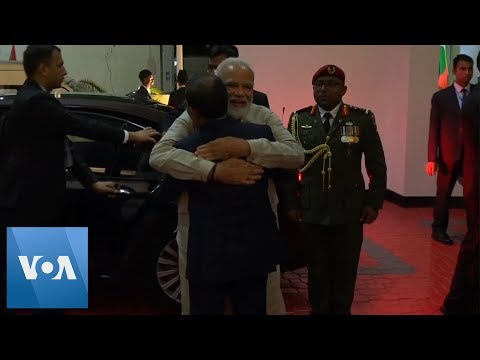 Modi In Maldives On First Foreign Trip Since Win