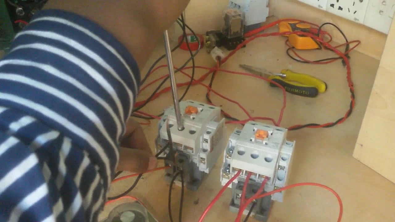 small resolution of three phase motor control by auto star delta starter auto star delta motor connection