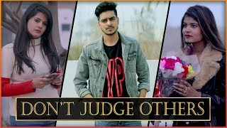 DON\'T JUDGE OTHERS WHEN U ARE NOT PERFECT || Rachit Rojha ft. I am Desi World