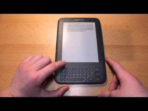 Kindle 3.1 Software Update First Look