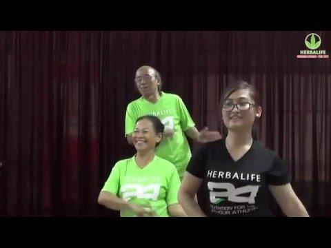 Dân vũ rửa tay - Hưỡng dẫn vận động Herbalife