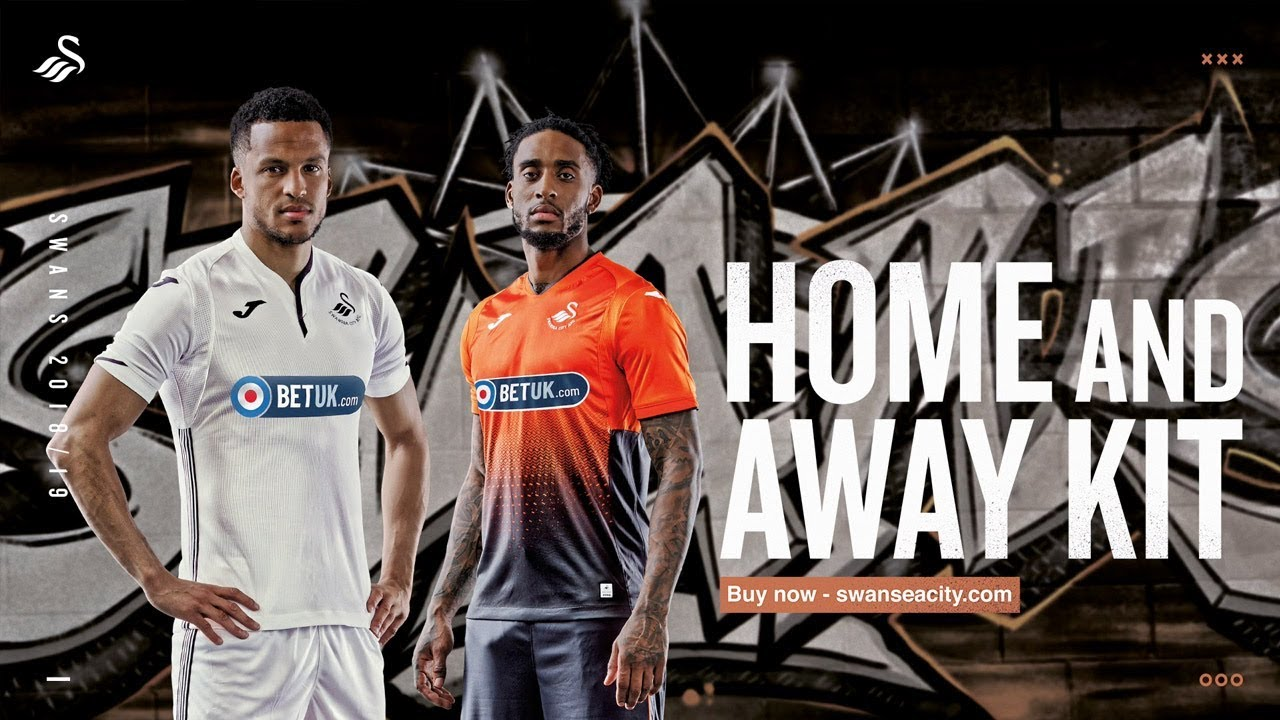 huge discount ccdeb 8f84f KIT LAUNCH VIDEO | Swansea City's new look for season 2018-19