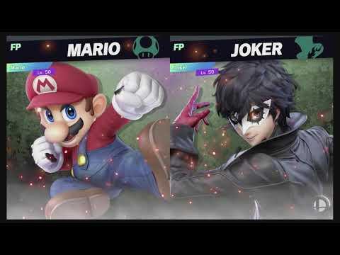 Super Smash Bros Ultimate Amiibo Fights – Request #15761 Mario Vs Joker