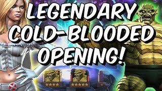 Legendary Cold-Blooded Crystal Opening! - 5 Star Abomination?! - Marvel Contest Of Champions