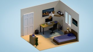 Blender Tutorial Creating a Low Poly Interior