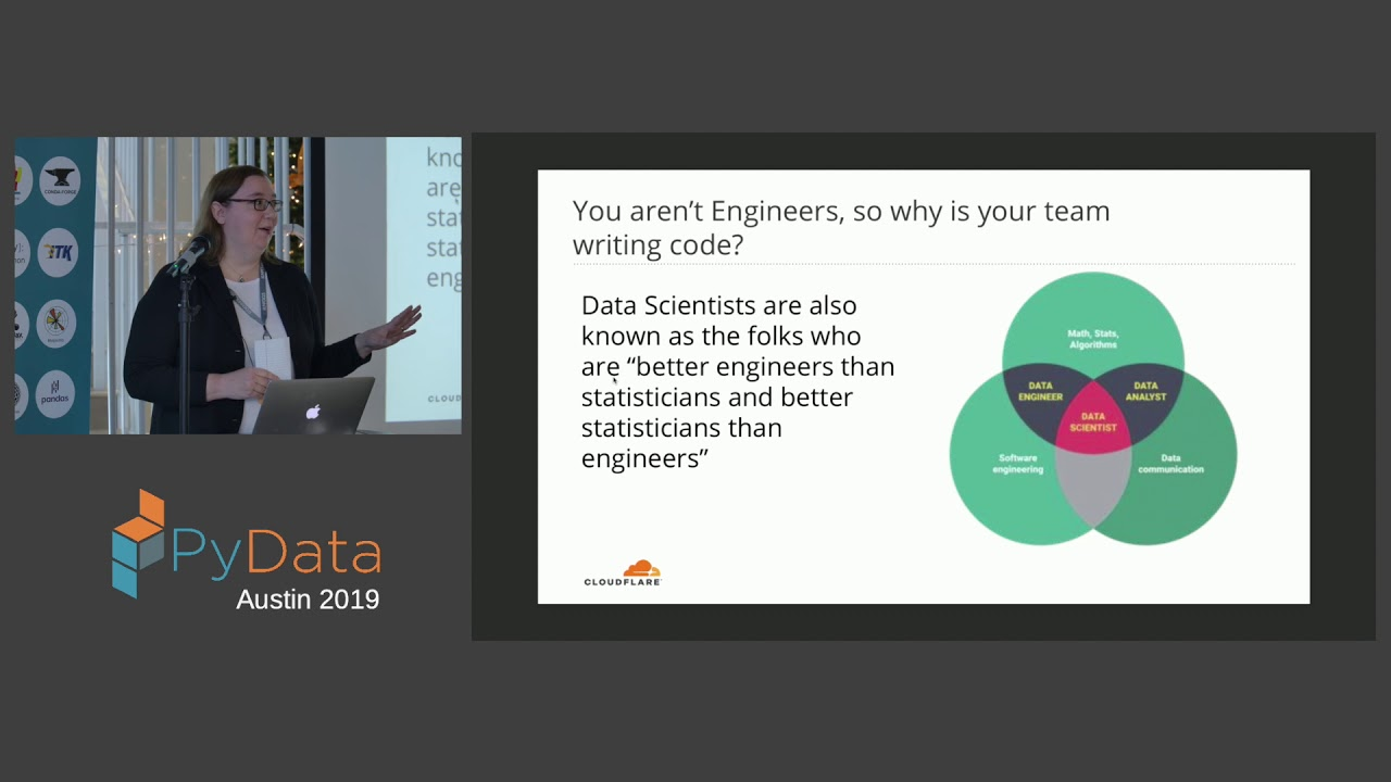 Image from Katrina Riehl: What the...? Data Science Questions Asked and Answered | PyData Austin 2019