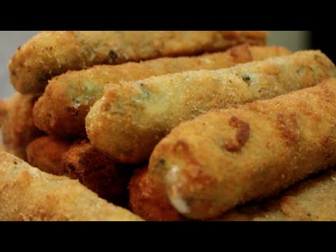 ????? ??????  ???????? ??????? ( ?????? ???? ) Spinach mozzarella sticks