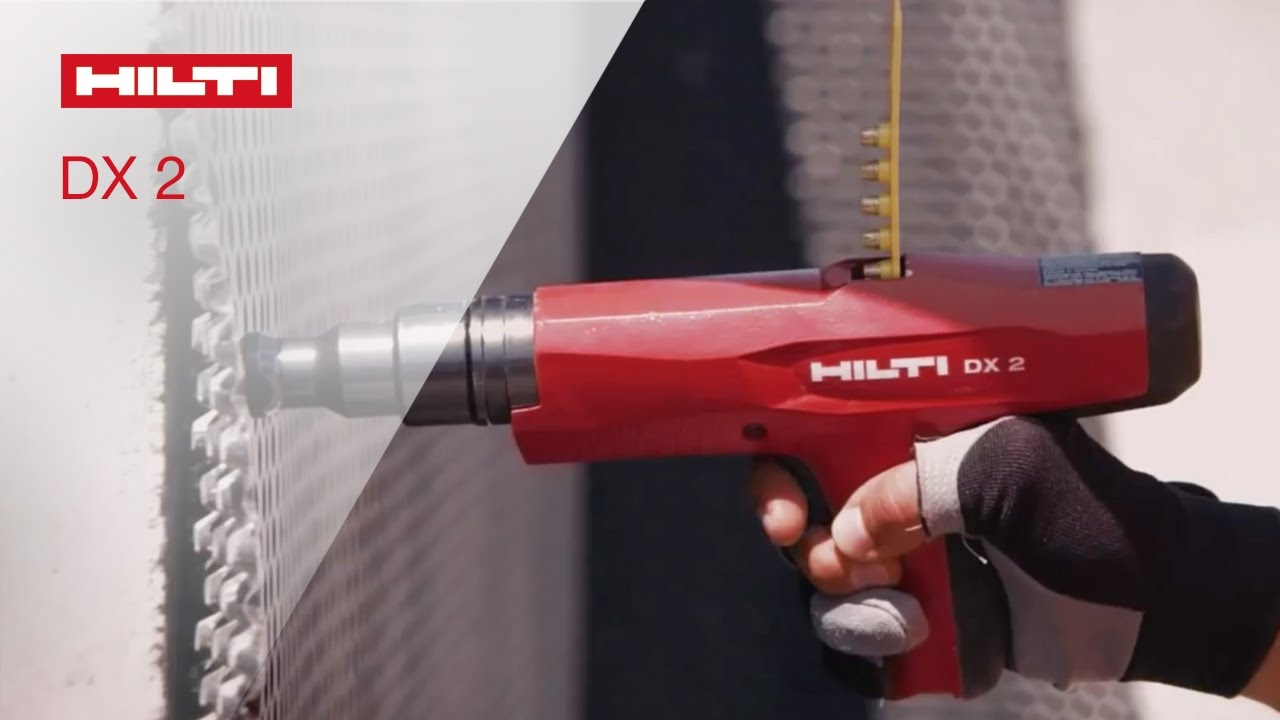 Introducing The Hilti Powder Actuated Fastening Tool Dx 2