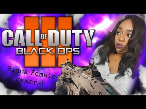 Black Female Gamers?? | BO3 Live Commentary