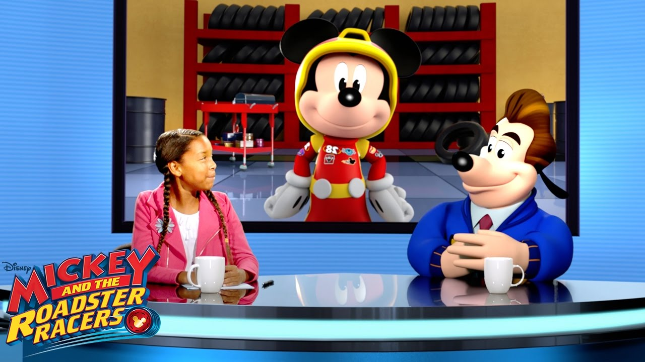 Inside the Garage | Behind the Racers | Mickey and Roadster Racers | Disney Junior - YouTube