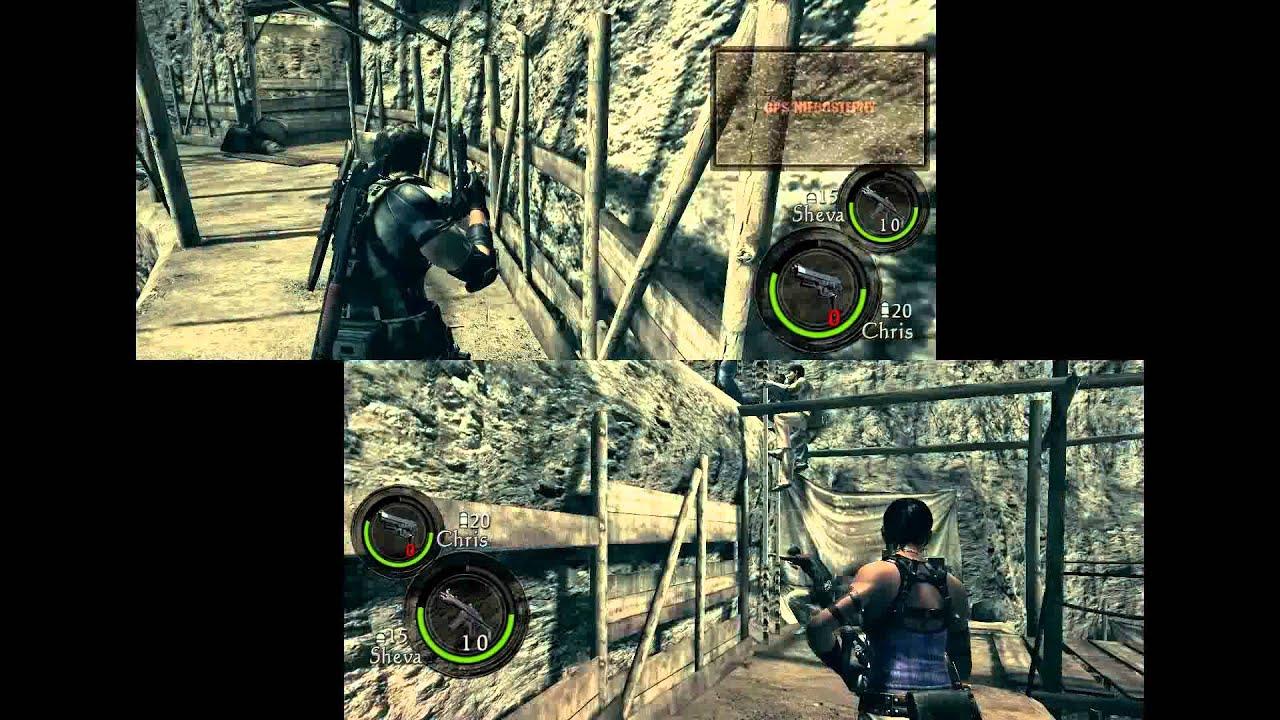 Resident Evil 5 Pc Split Screen Coop Mod Youtube