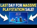 LAST DAY For MASSIVE PlayStation SALE! Red Dead 2 NEW Gameplay SOON?!