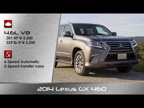2014 / 2015 Lexus GX 460 Review and DETAILED Road Test - YouTube