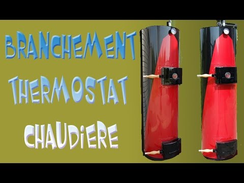 Branchement Thermostat Chaudiere Youtube
