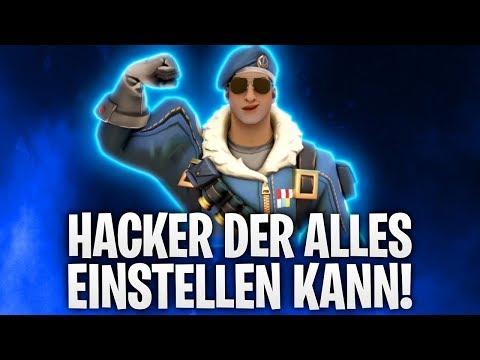 HACKER KANN ALLES EINSTELLEN! 💀 | Fortnite: Battle Royale