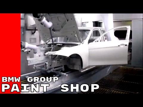 Paint Shop at BMW Group Plant Munich