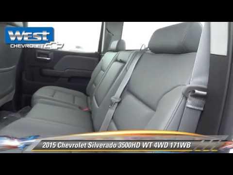 New 2015 Chevrolet Silverado 3500HD WT 4WD 171WB - Alcoa thumbnail