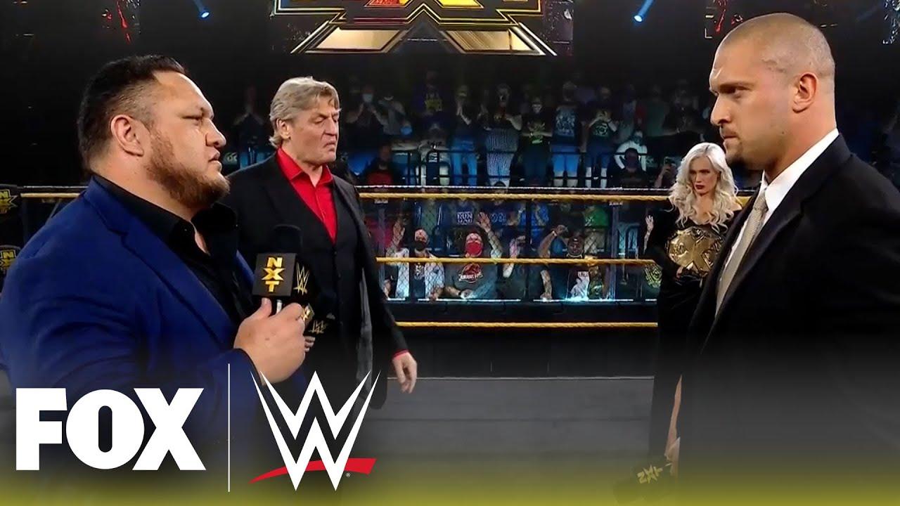Samoa Joe returns as William Regal's Enforcer of Respect | NXT | WWE ON FOX