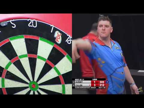 ONE OF THE BEST PRO TOUR FINALS EVER? Gurney v Cullen - Players Championship 8