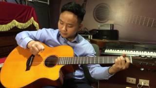 Đời tôi cô đơn - Solo Guitar bolero 1 ngón