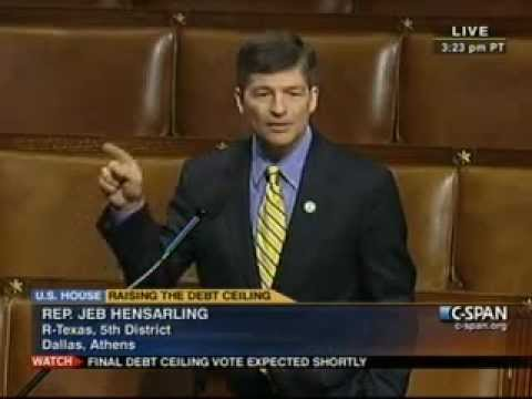Hensarling Statement on Revised Budget Control Act of 2011