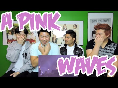Apink - WAVE MV REACTION (FUNNY FANBOYS)