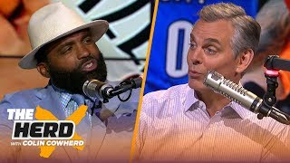 Cuttino Mobley talks Russ' emotions, KD possibly leaving GS, next Lakers HC & 76ers | NBA | THE HERD