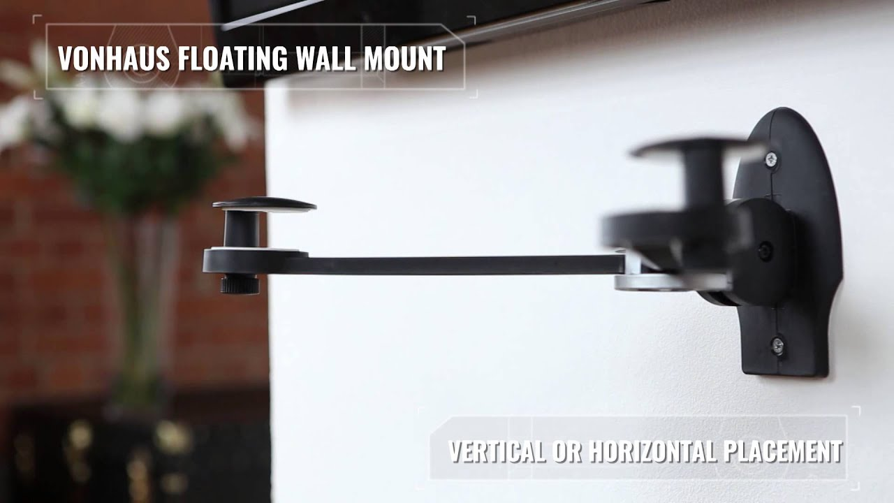 VonHaus Floating Wall Mount   YouTube