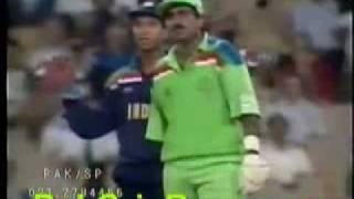 Javed Miandad and Kiran More
