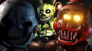HUNTING HUMANS AS NIGHTMARE SPRINGTRAP Sinister Turmoil 3 GAMEPLAY Screenshots Breakdown