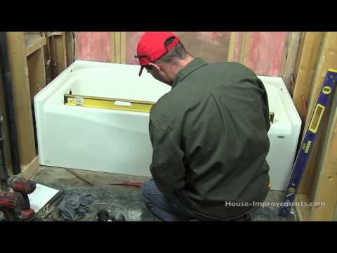 How To Install a Bath Tub streaming vf