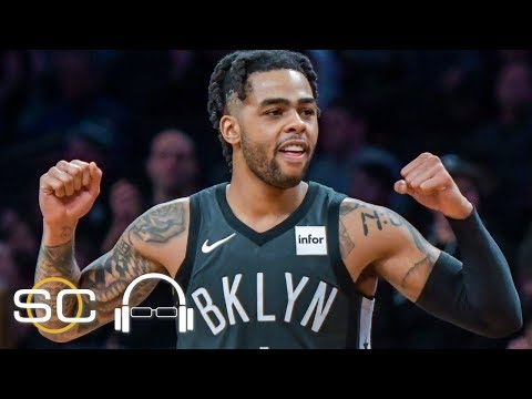 NBA film breakdown: D'Angelo Russell playing amazing for Nets | SC with SVP