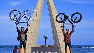ピストバイクで日本列島縦断の旅 Trip to Japan longitudinal to use piste bike
