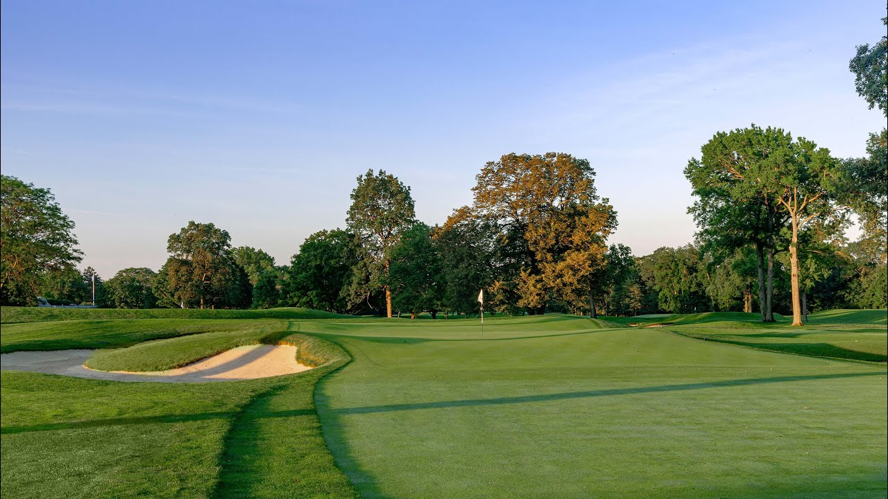 2020 U.S. Open: Winged Foot Flyover - Hole No. 17