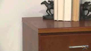 Valona Custom Three Drawer Filing Cabinet - Oak - Product Review Video
