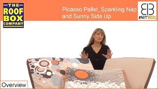 Pet Beds - Egr - Picasso Pallet, Sparkling Nap And Sunny Side Up